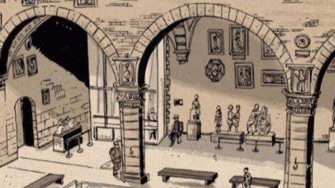 #ioleggoacasa: Fumetto online al Museo Nazionale del Bargello