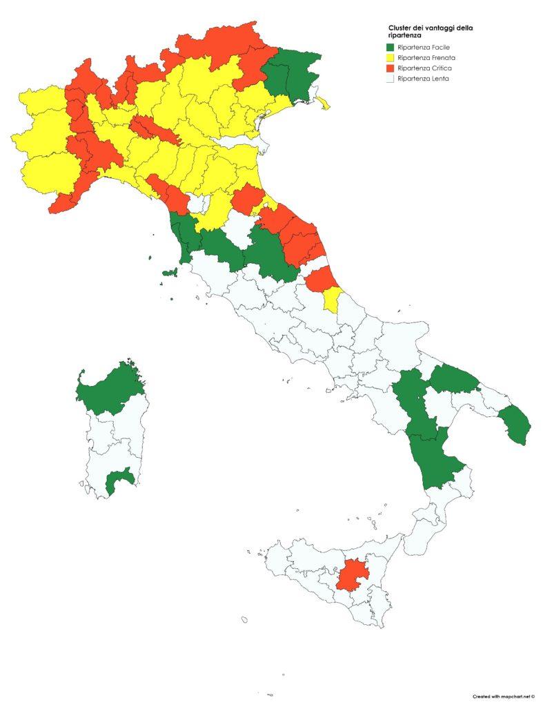 Cartina Politica Italia Con Capoluoghi Di Regione.Fase 2 Le Citta Sono Pronte A Riaprire Ecco La Mappa Firstonline