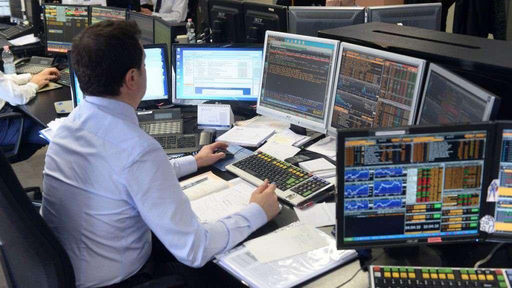 Sala contrattazioni Borsa