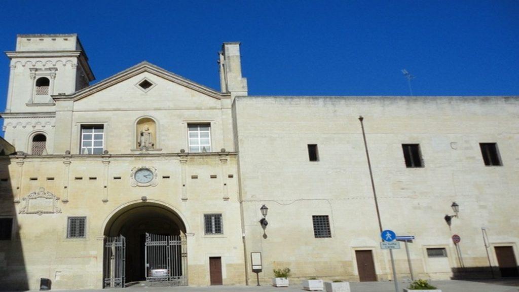 Chiesa San Giovanni Evangelista di Lecce delle suore di clausura benedettine