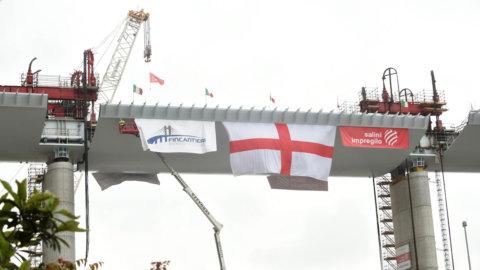 Ponte Genova finito in tempi record: aperto per luglio