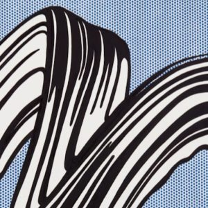 "Roy Lichtenstein, l'opera ""White Brushstroke I"" in asta a New York"