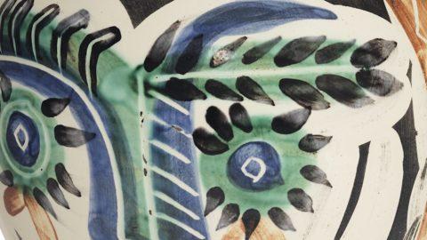 Ceramiche di Pablo Picasso: 100% di venduto per l'asta online Christie's