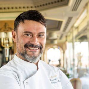 Stefano Marzetti, la cucina del sorriso con vista