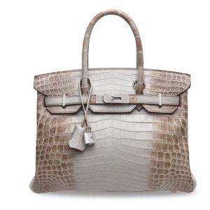 """Moda e accessori di lusso: """"Hermès Himalaya Birkin"""" guida l'asta Christie's a Hong Kong"""