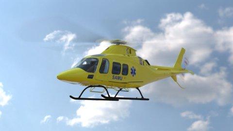 Elicotteri Leonardo per l'elisoccorso in Francia