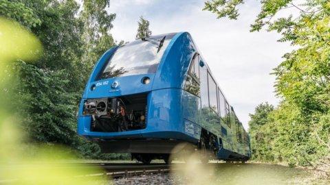 Treni a idrogeno in Italia: accordo Snam-Alstom