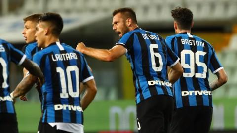 Inter, Milan, Atalanta, Napoli: gol e vittorie. Roma ko