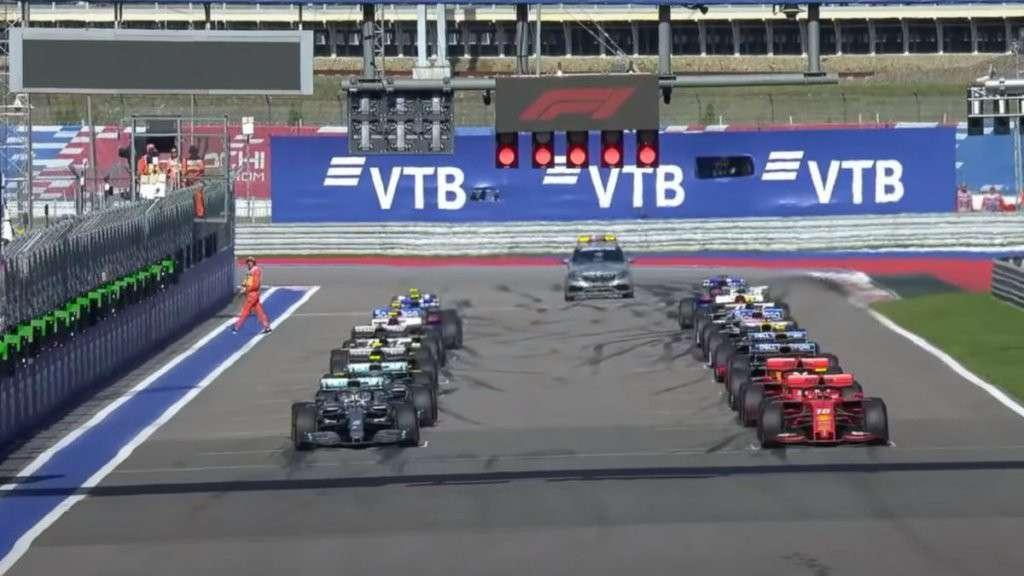 Partenza Gran Premio
