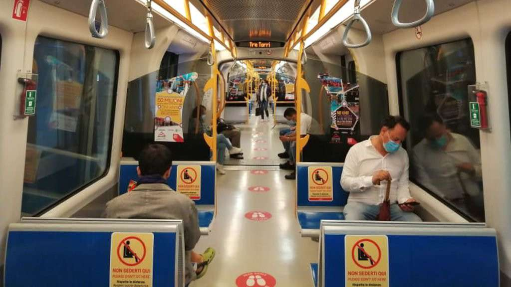 La Metro 5 di Milano