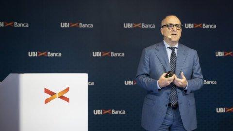 Ops Intesa, Ubi Banca cambia il piano: meno utili, ma dividendo sale