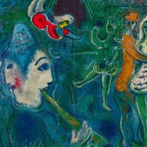 Marc Chagall: asta online di opere litografiche di sogni e poesie