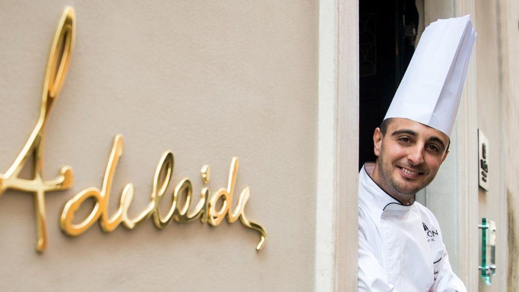 Gabriele Muro Chef Ristorante Adelaide dell'Hotel Vilon © Francesco Vignali Photography