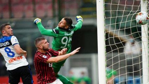 Il Milan ferma l'Atalanta e in molti ringraziano
