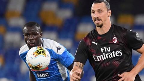 Napoli-Milan: il pari piace alla Roma. Inter: Lazio nel mirino
