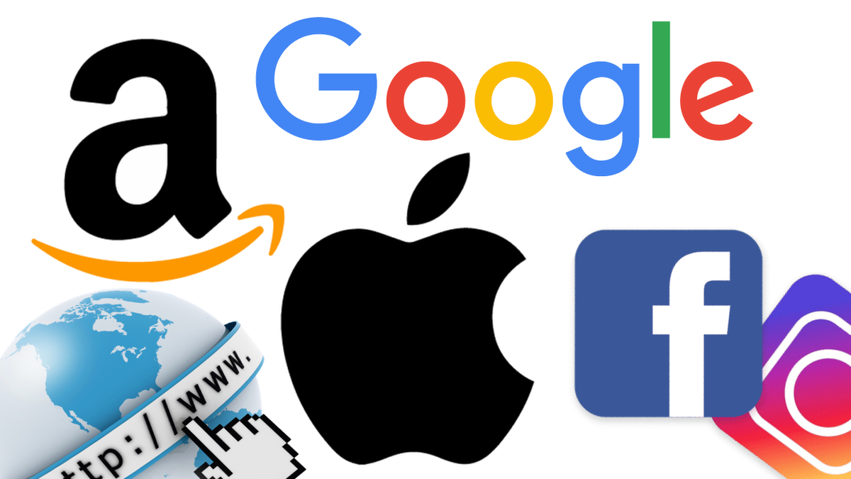 I giganti del web: Amazon, Google, Apple, Facebook e Instagram