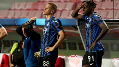 Champions: Atalanta, che beffa l'eliminazione nel finale