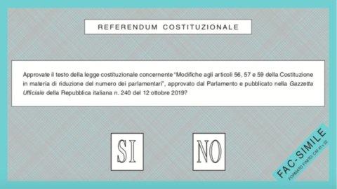 scheda elettorale referendum 20-21 settembre
