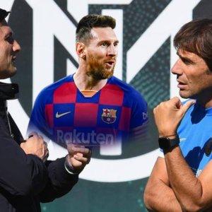 Messi se ne va, Conte resta e l'Inter sogna
