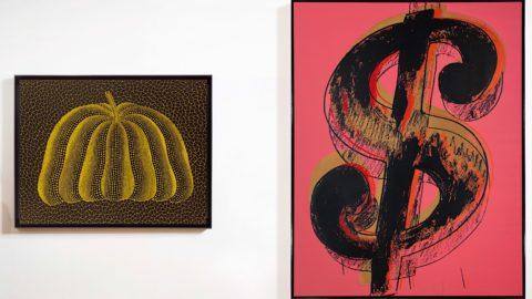 Andy Warhol e Yayoi Kusama: opere iconiche in asta a Hong Kong