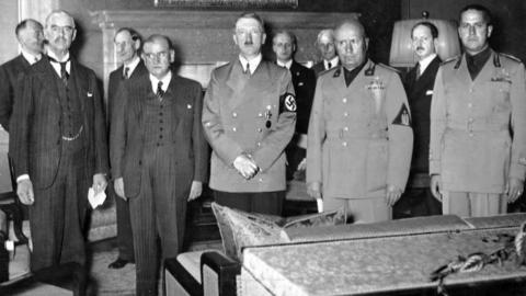 ACCADDE OGGI – Nel '38 a Monaco l'Europa si piega a Hitler