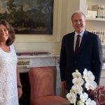 Fs: l'ad Battisti incontra l'ambasciatrice della Colombia