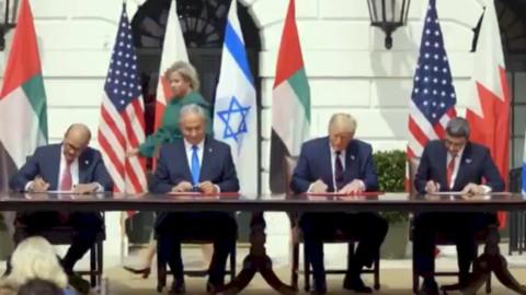 Israele-Emirati-Bahrein: pace anti-Iran. E Trump festeggia