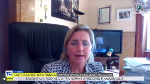 Marta Branca - Intervista TG Poste