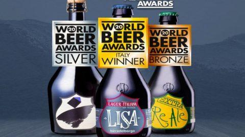 World Beer Awards 2020: Lisa di Birra del Borgo migliore lager internazionale