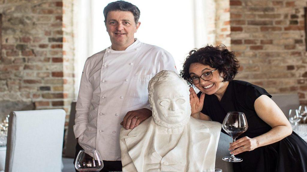 Lo Chef Marc Lanteri e la moglie Amy addetta alla sala