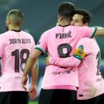 Champions: Messi liquida la Juve, la Lazio resiste in Belgio