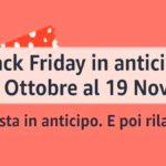 Black Friday: Amazon anticipa gli sconti di un mese