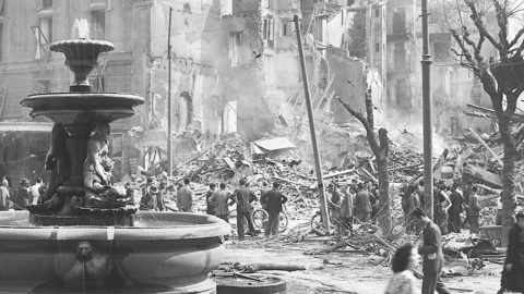 Milano bombardata, mostra fotografica dall'Archivio Publifoto Intesa Sanpaolo
