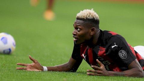 Milan-Roma, pirotecnico pari. Inter e Atalanta in Champions