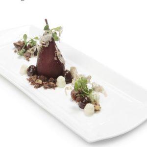 La ricetta di Eugenio Boer: un dessert di pere e tartufo che sa di Piemonte
