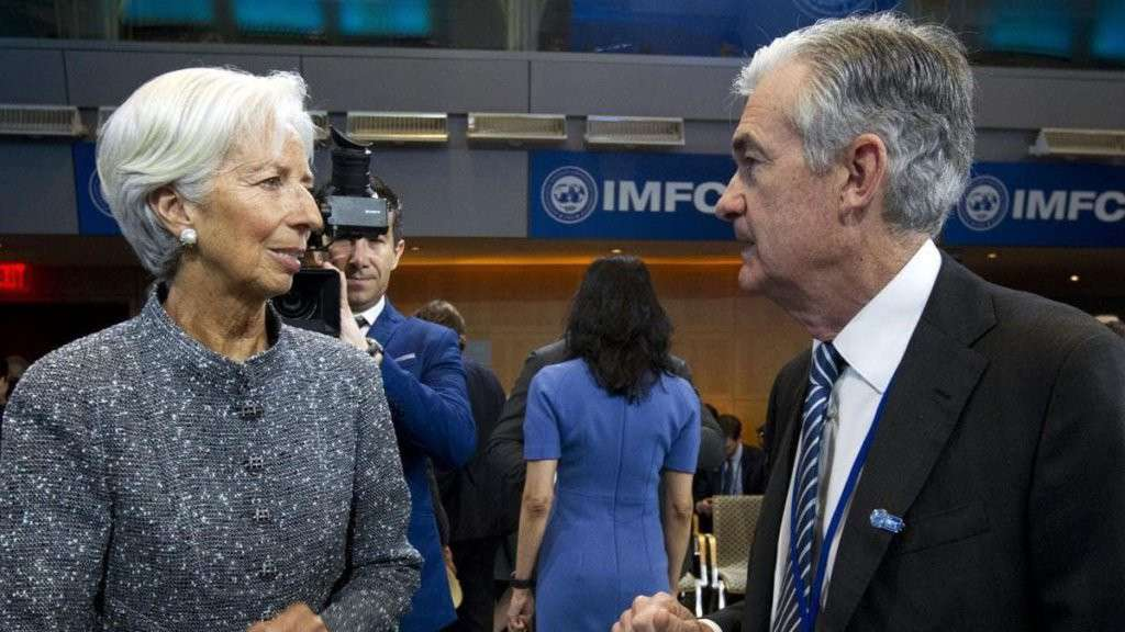 Jerome Powell e Christine Lagarde