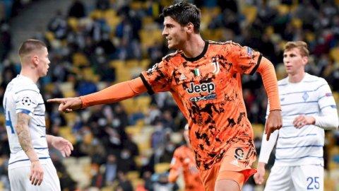 Juve, Morata in Champions League contro la Dynamo Kiev