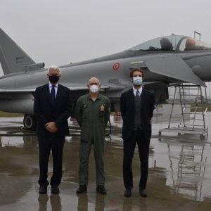 Leonardo, consegnato all'Aeronautica l'Eurofighter Typhoon più evoluto