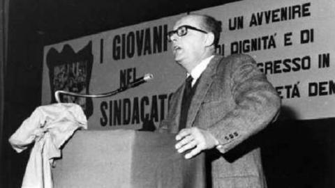 Piero Boni, partigiano e sindacalista della Cgil