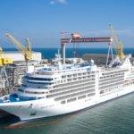 Crociere, Fincantieri consegna nave extralusso a Silversea