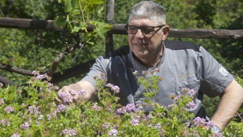 Umberto Amato, lo chef erborista di Monte Argentario