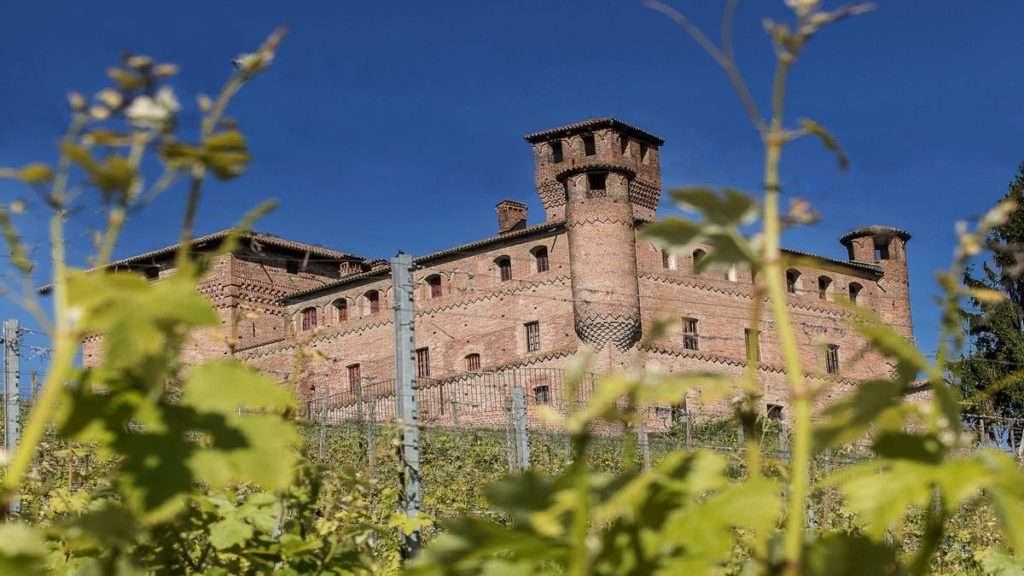 castello-Grinzane-cavour con vigne