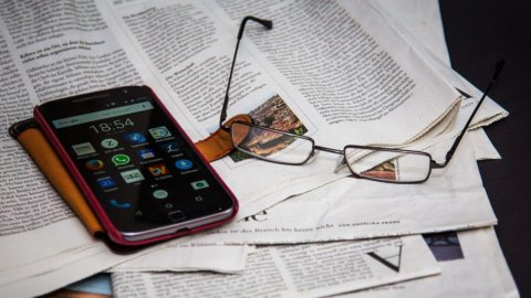 Smartphone e quotidiani