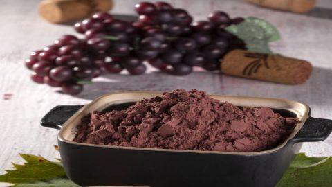 Polvere di vinaccia: l'ultima scoperta di una cucina da chef