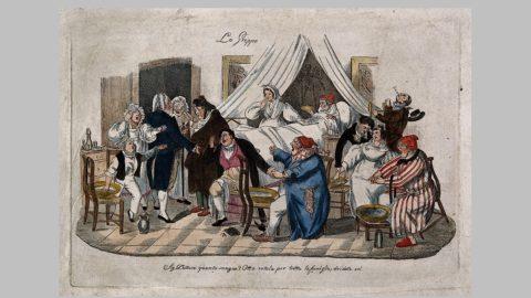 """Una pandemia che si chiamava """" grippe"""", e come oggi il covid, spaventò l'Europa intera"""