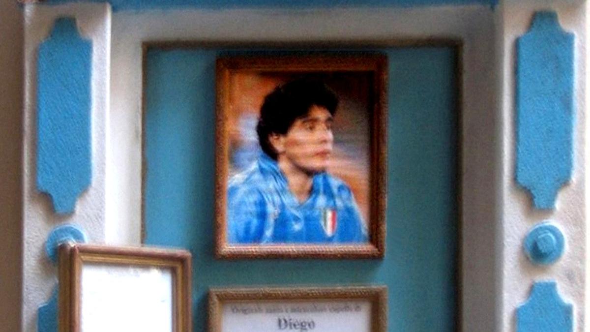 Altarino Maradona a Napoli