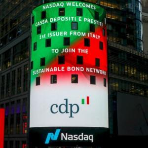 Cdp entra nel network Usa dei bond sostenibili
