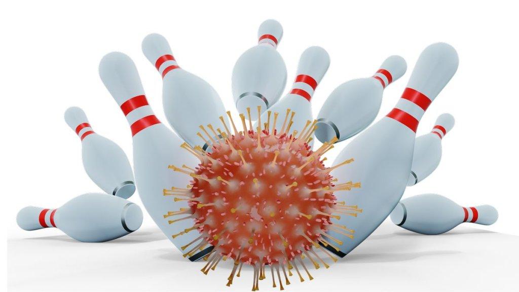 Coronavirus Bowling Strike