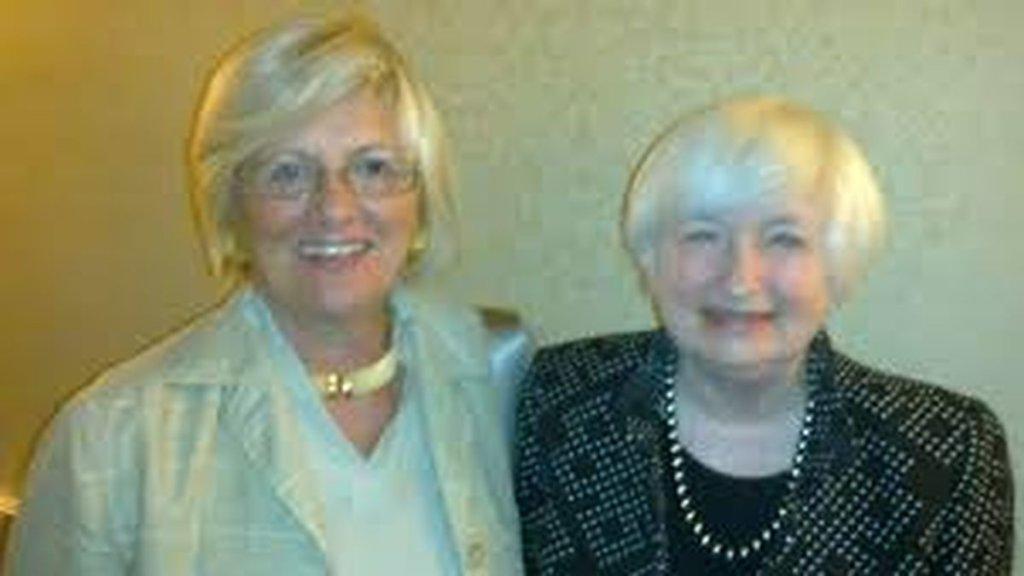 Maria Cristina Marcuzzo e Janet Louise Yellen