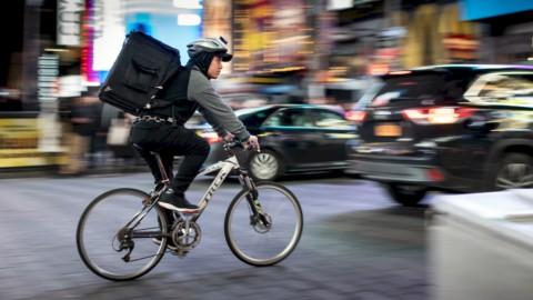 Rider della delivery economy